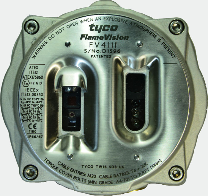 FLAMEVision Array Based Infrared Flame Detector